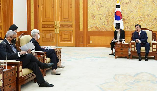 """셔먼 미 국무부 부장관 방한 일정 돌입…""""韓美 진정한 글로벌 파트너"""""""