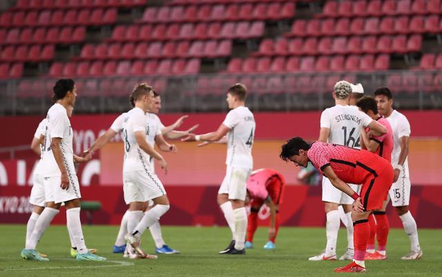 【东京奥运会】韩男足国奥首战0-1惜败新西兰