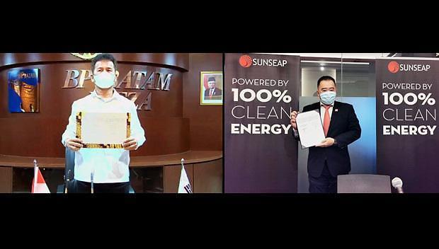 [NNA] 싱가포르 선십, 세계 최대 부양식 태양광 발전, 印尼 바탐섬 설치