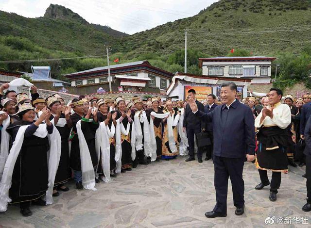 中시진핑, 10년 만에 티베트 방문한 이유