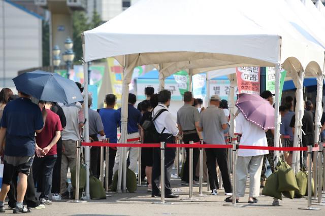 韩国新增1629例新冠确诊病例 累计187362例