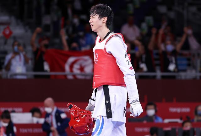 [도쿄올림픽 2020] 태권도 신예 장준, 결승행 좌절...동메달 결정전으로