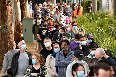 호주 델타 변이 확산에 봉쇄령…곳곳서 봉쇄령 항의 대규모 시위