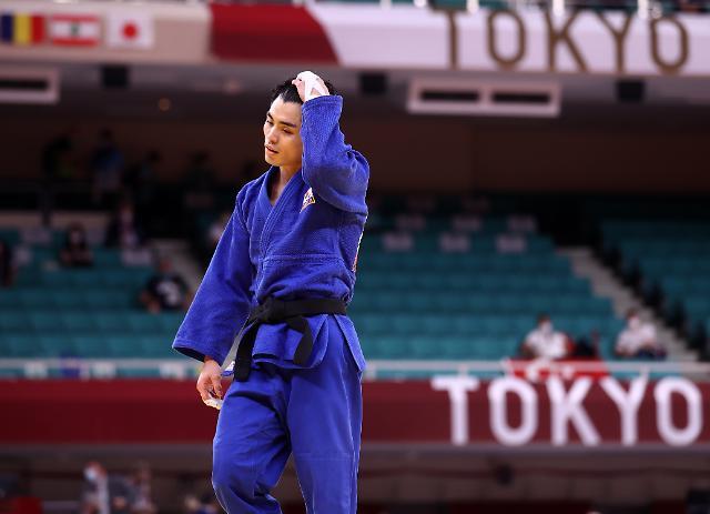 [도쿄올림픽 2020] 유도 60㎏급 김원진, 조지아 꺾고 동메달 결정전 진출