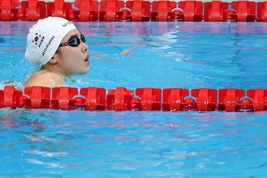 [도쿄올림픽 2020] 조성재, 평영 100m 1분벽 깨뜨렸지만...준결승 진출 좌절