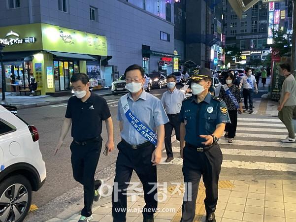 경기도남부자치경찰위위회, 유흥시설 밀집지역 1700여개 업소 합동단속