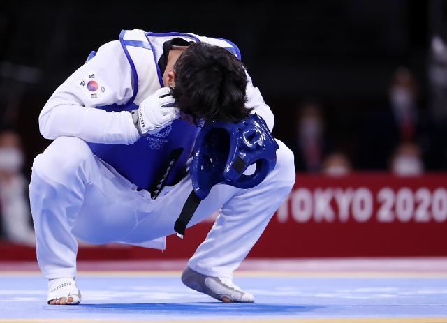 [도쿄올림픽 2020] 믿기지 않는 이대훈 패배 (포토)
