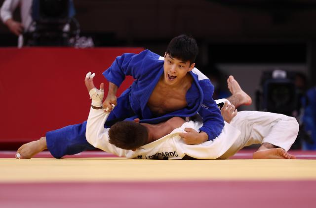 [도쿄올림픽 2020] 안바울의 업어치기 한판승 (포토)