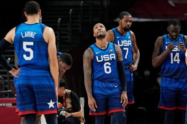 [도쿄올림픽 2020] 프랑스에 패배한 최강 미국 농구
