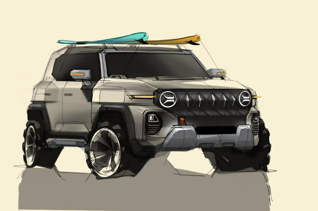 쌍용차, 차세대 SUV KR10 디자인 공개…미래 방향성 제시