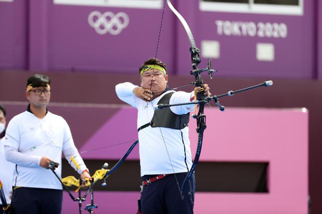 【东京奥运会】韩国男子射箭队击败印度闯入半决赛
