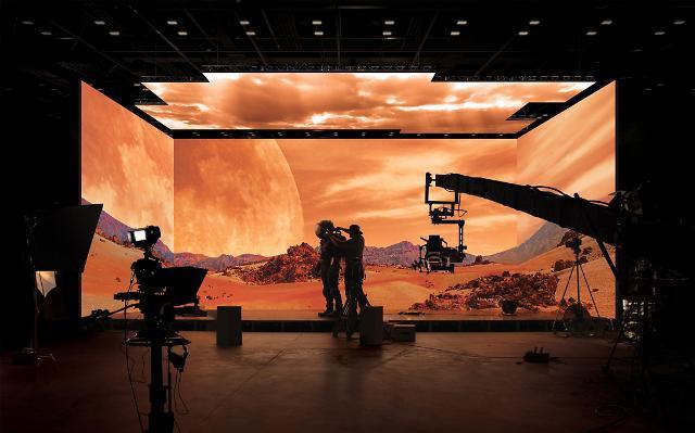 삼성 LED '더 월', CJ ENM 가상 스튜디오에 세계 최초 탑재