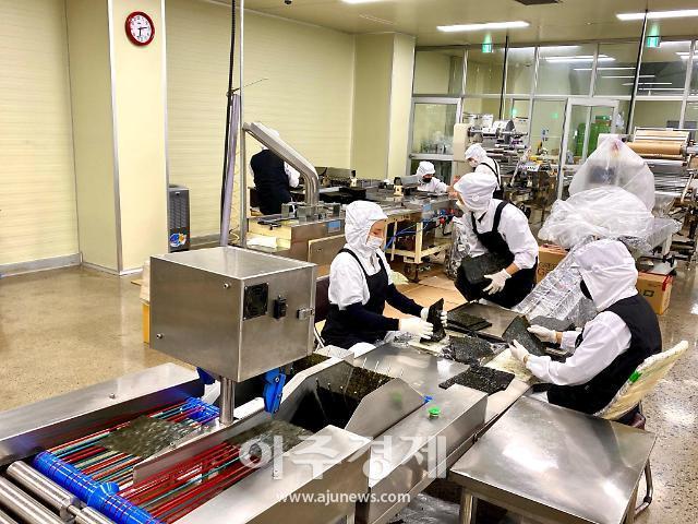 충남도 상반기 수산식품 수출액 '역대 최고' 달성