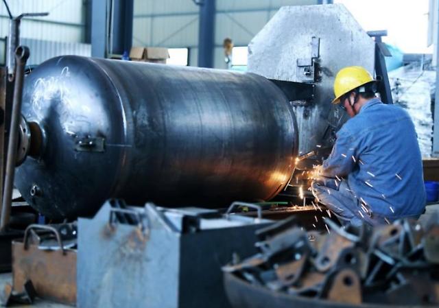 중국 공업기업 이익 증가율 6개월째 둔화