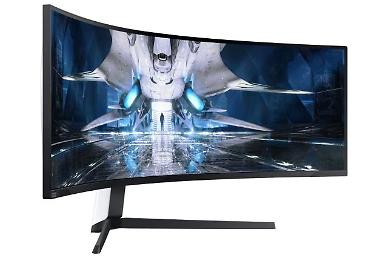 Samsung Electronics unveils Quantum Mini LED curved display for gaming