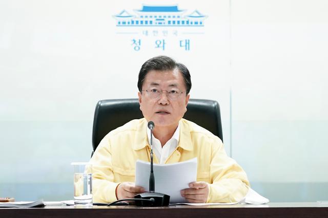 """문 대통령, 유엔군 참전용사 훈장 수여…""""희생·헌신에 보답"""""""