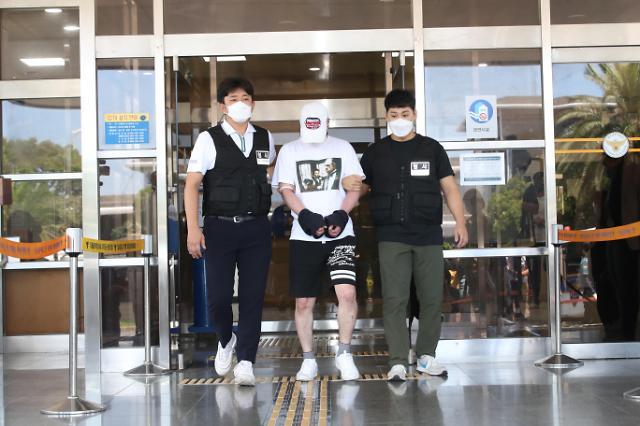[포토] 제주 중학생 살해범 김시남