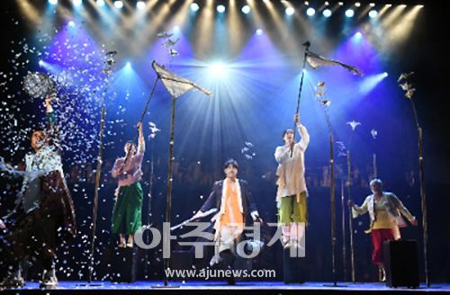 뮤지컬 '판', 3년 만에 돌아온 신명나는 풍자