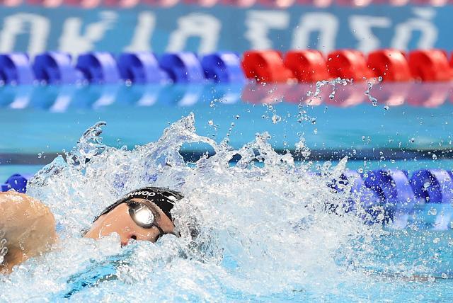 [도쿄올림픽 2020] 황선우, 자유형 100m서 또 한국신기록...6위로 결승 진출