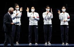 [2020東京五輪] フェンシング女子エペ団体、銀メダル獲得