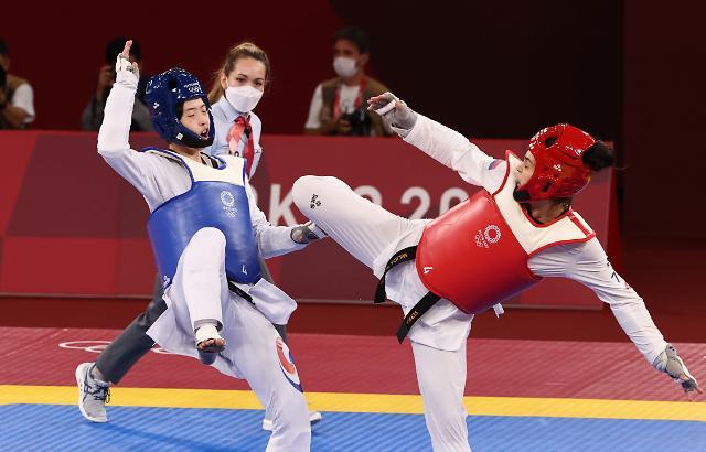 [도쿄올림픽 2020] 이다빈, 태권도 67㎏ 초과급 은메달...한국 올림픽 사상 첫 노골드
