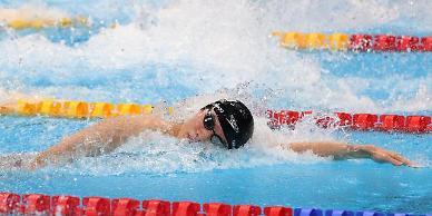 [도쿄올림픽 2020] 황선우, 올림픽 자유형 100m 아시아 신기록 (포토)