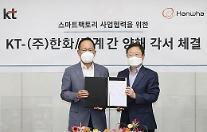 KTとハンファ/機械、業務協約締結…スマートファクトリー新規商品の発売
