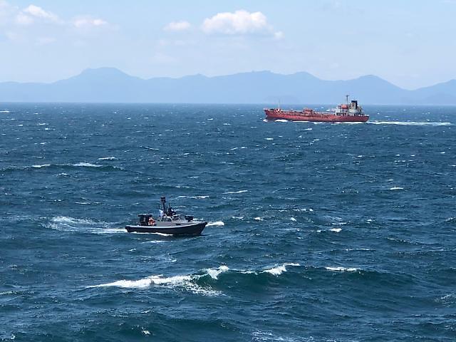 LIG Nex1 completes demonstration of new unmanned coastguard patrol boat