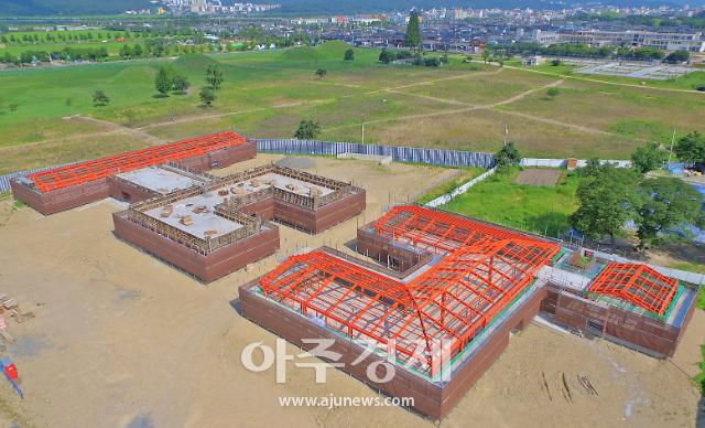 경주 월성 발굴조사 운영시설, 내년 상반기 개관...이름은 '숭문대'