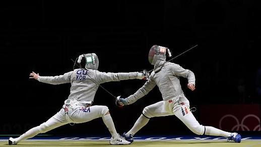 【东京奥运会】韩国男子佩剑队击败德国晋级东奥团体决赛