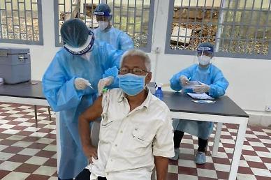 [NNA] 캄보디아 누적 감염자 7.4만명... 프놈펜 감염자 수는 미포함