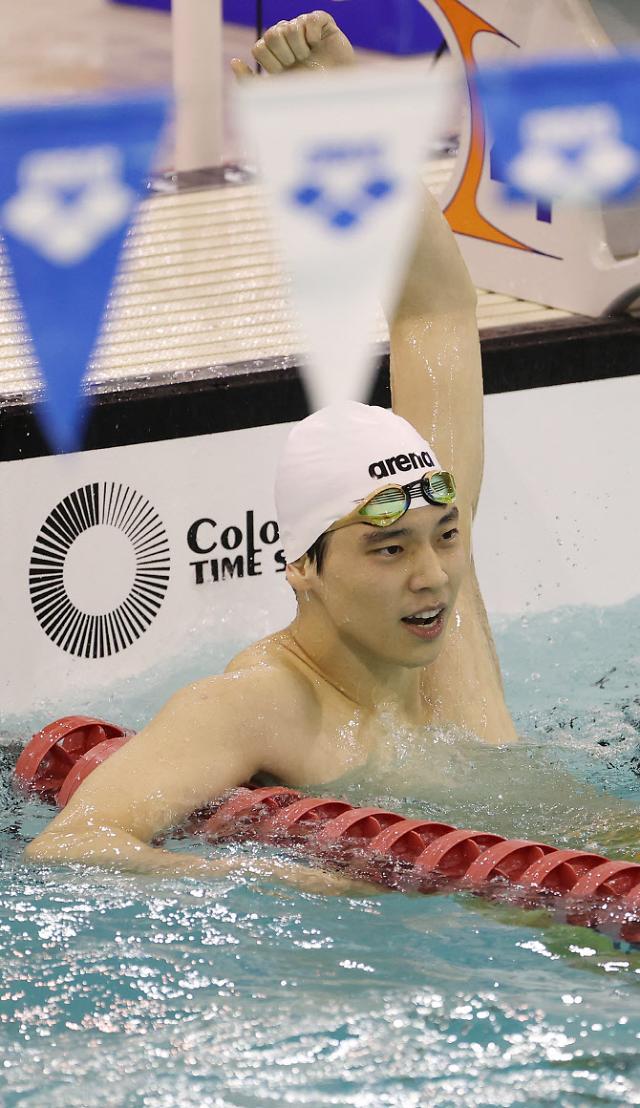 [도쿄올림픽 2020]이주호, 배영 200m 4위로 준결승 진출