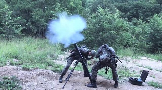 현대위아 81㎜ 박격포-Ⅱ 육군 전방 부대 첫 배치