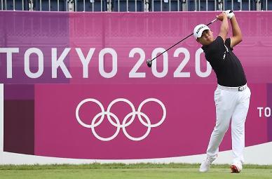[도쿄올림픽 2020] 티샷하는 김시우 (포토)