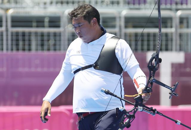[도쿄올림픽 2020] 양궁 개인전 도전 끝 난 오진혁