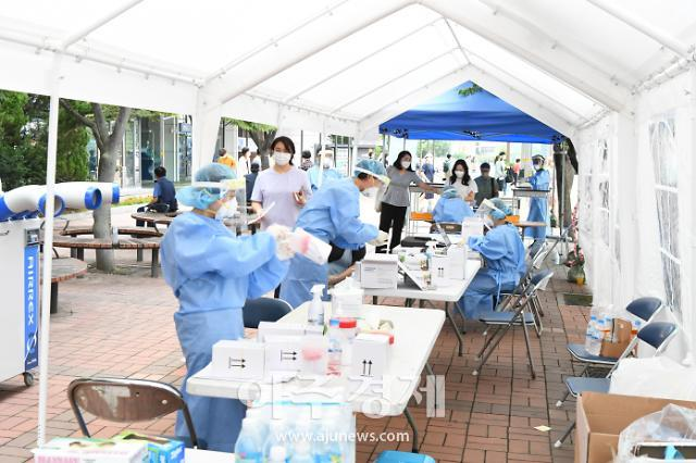 [경기 양주소식] 덕정역 코로나19 임시 선별검사소 연장 운영