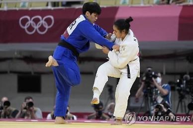 [도쿄올림픽 2020] 윤현지, 세계 5위 꺾고 유도 여자 78㎏급 4강 진출