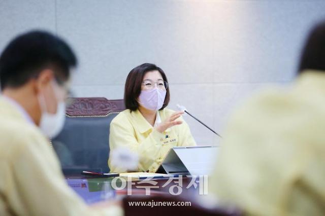 """김보라 안성시장, """"폭염·가뭄 피해 최소화 총력 대응"""" 지시"""