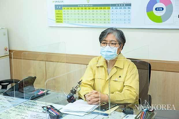 한국질병관리청의 정은경 청장
