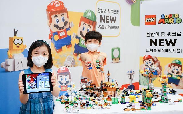 [포토] 레고코리아, 2인 모드 가능한 레고 슈퍼 마리오 신제품 출시