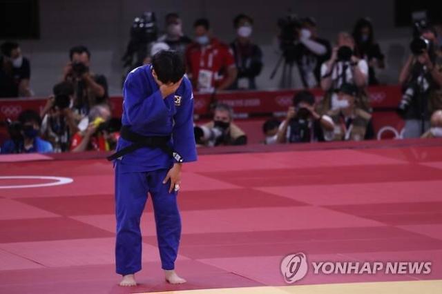 [도쿄올림픽 2020] 윤현지, 동메달 결정전서 아쉬운 누르기 한판패