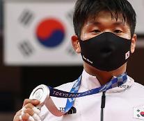 [2020東京五輪] 柔道男子100キロ級チョ・グハム、銀メダル獲得