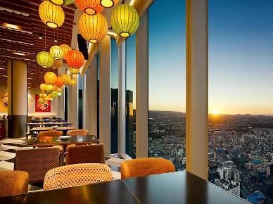 호텔 38층에 포장마차…노을 보며 만끼하는 가벼운 휴식