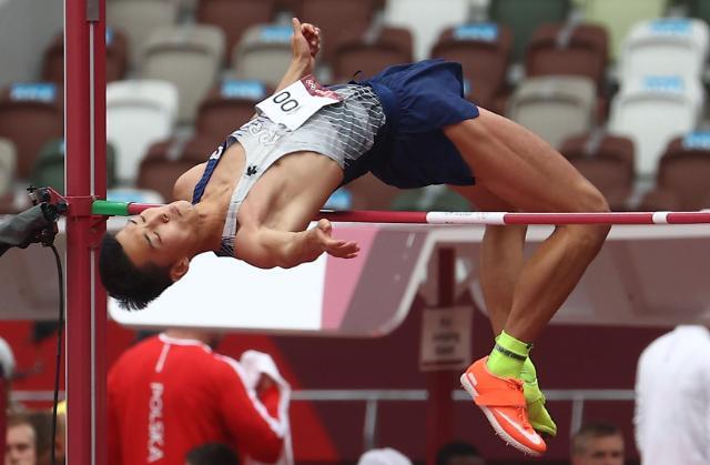 [도쿄올림픽 2020] 높이뛰기 우상혁, 결선 진출 (포토)