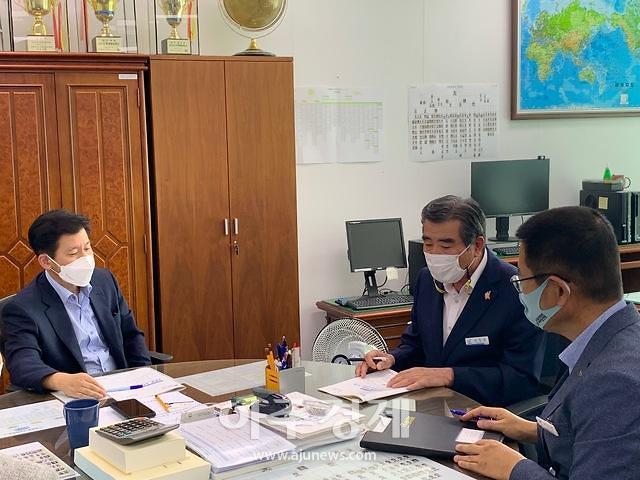 김동일 보령시장, 지역발전 가속화를 위한 국비 확보에 '사활'
