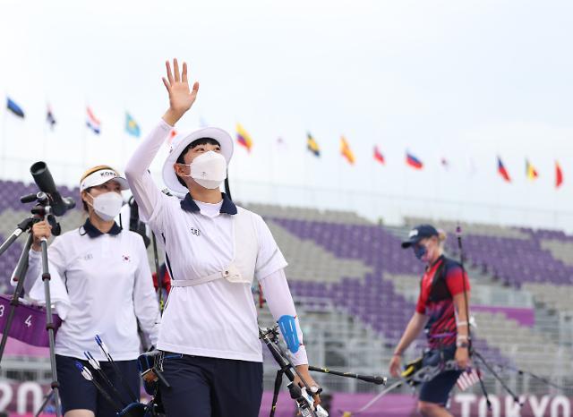 [도쿄올림픽 2020] 안산, 올림픽 양궁 부문 첫 3관왕 눈앞