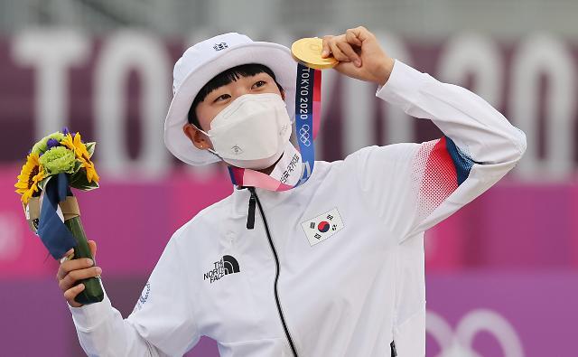 [도쿄올림픽 2020] 올림픽 사상 처음으로 양궁 3관왕 오른 안산