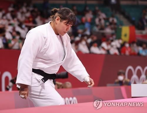 [도쿄올림픽 2020] 한국 유도 개인전 노 골드 마무리…한미진 패자부활전서 패배