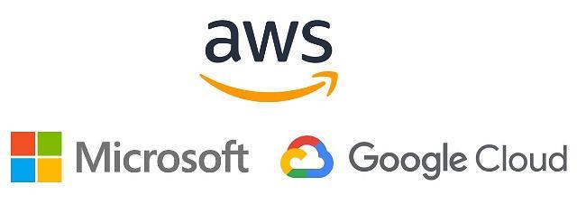 클라우드 전환 불붙은 빅3…아마존·MS·구글 상반기 실적