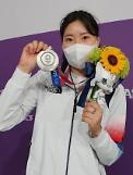 [2020東京五輪] 25mピストル女子キム・ミンジョン、シュートオフの末に銀メダル獲得